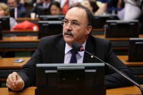 O deputado Mauro Pereira (PMDB-RS), em reunião em outubro de 2016. Foto: Cleia Viana/Câmara dos Deputados.