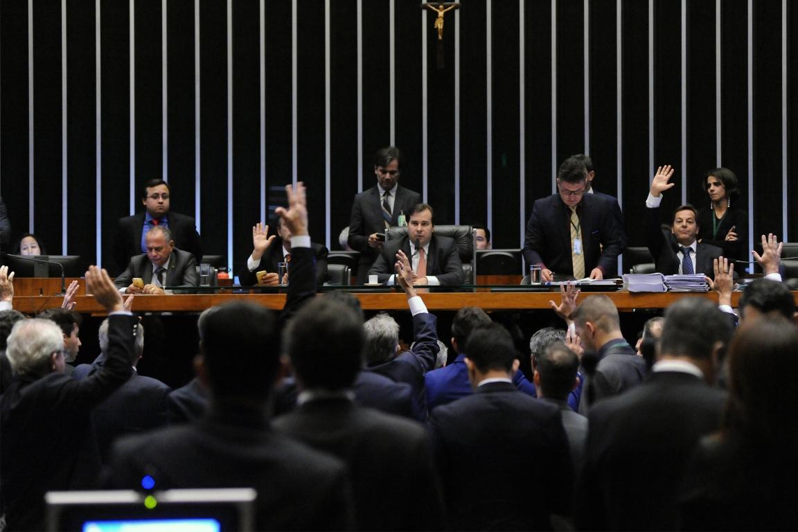Câmara aprovou MP que reduz unidades de conservação na Amazônia. Foto: Luis Macedo/Câmara dos Deputados.