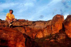 Niède Guidon, protetora do Parque Nacional da Serra da Capivara. Foto: Isaac Simão. Foto:  Isaac Simão