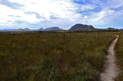 Horizonte de ampliação do Parque Nacional da Chapada dos Veadeiros. Foto: Duda Menegassi.