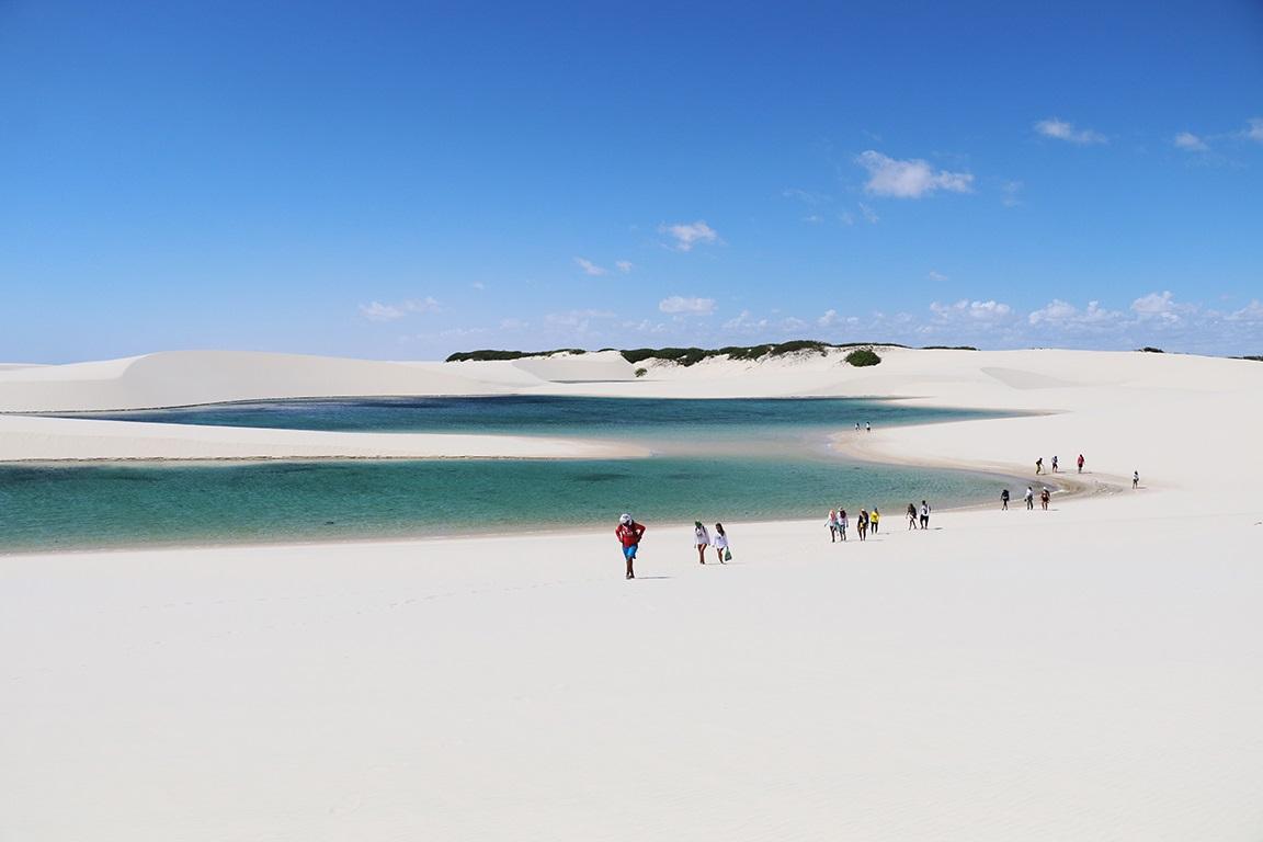 Lençóis Maranhenses: um caminho por entre as dunas