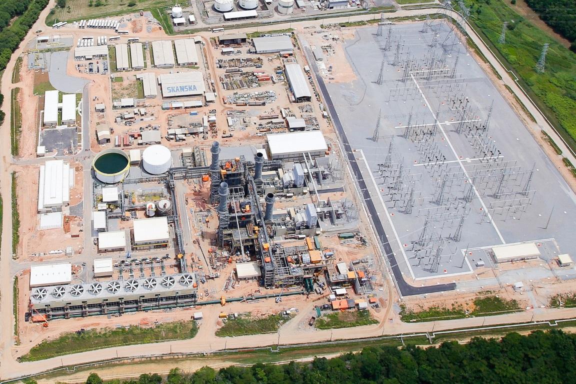 Usina Térmica de Energia (UTE) da Baixada Fluminense, no Rio de Janeiro (RJ). Uso de hidrelétricas fez emissão do setor de energia disparar. Foto: PAC/2014.