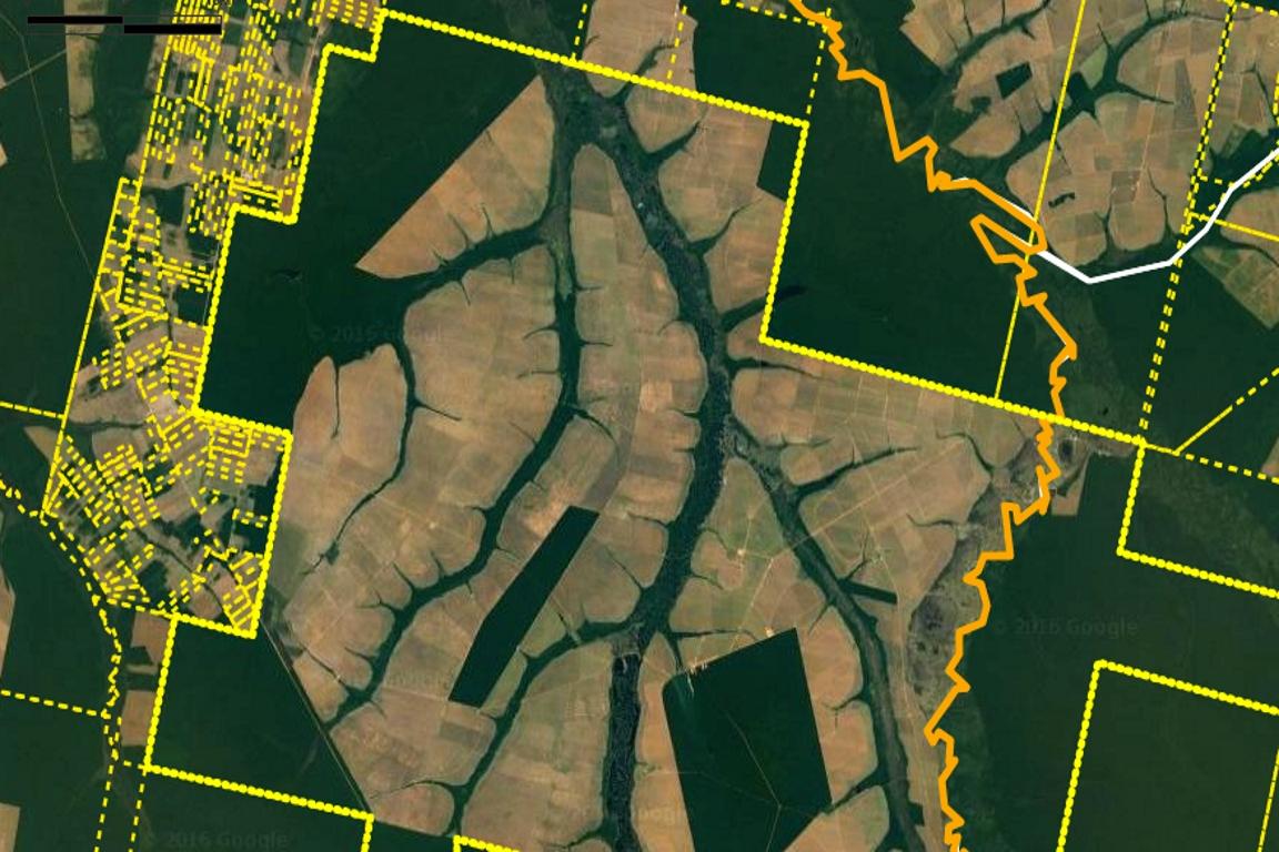 Propriedades rurais em módulo de consulta pública do CAR. Foto: reprodução.