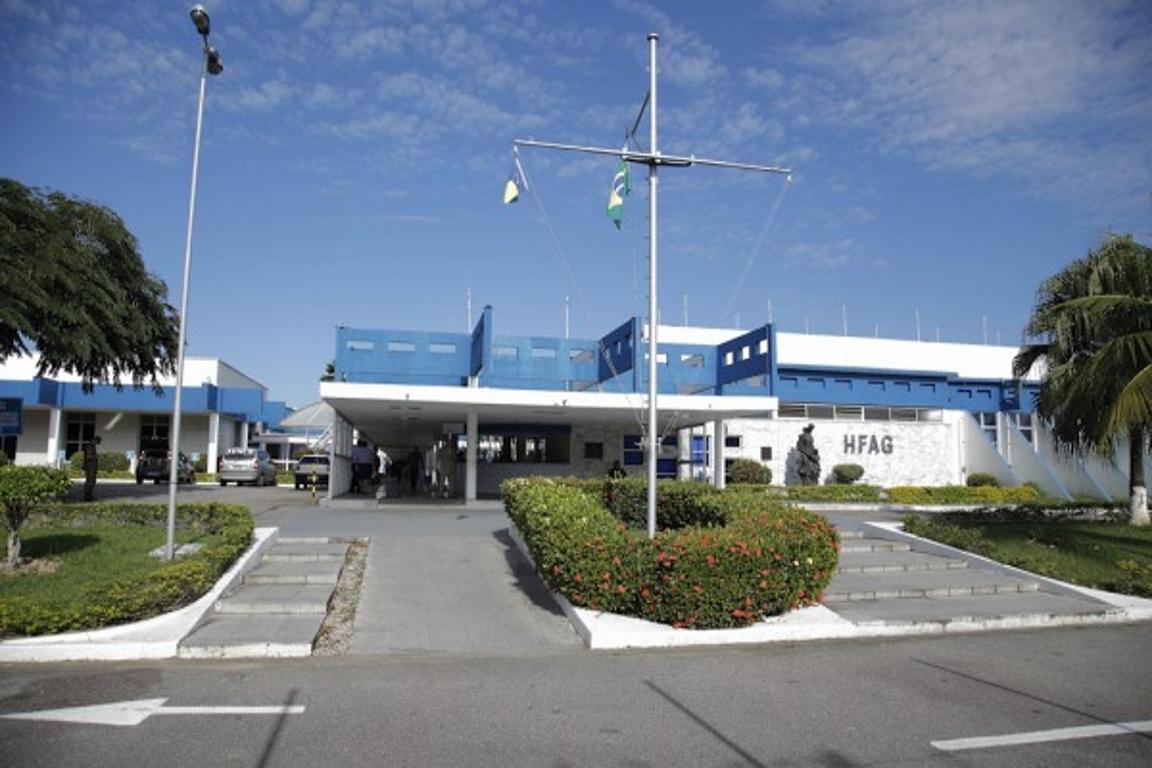 Hospital de Aeronáutica do Galeão (HFAG) , onde Lazlo está internado. Foto: Divulgação/Defesa.