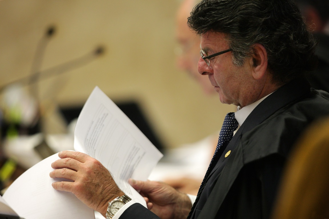 Ministro Fux solicitou a inclusão do julgamento do Código Florestal na pauta do plenário do Supremo Tribunal Federal. Foto: Rosinei Coutinho/SCO/STF.