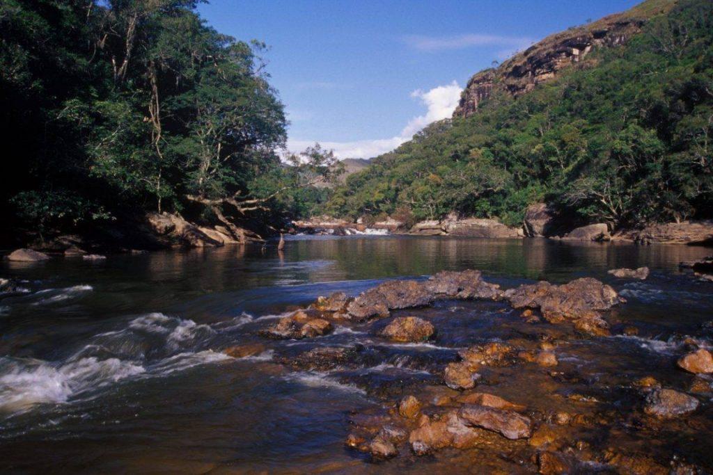 Rio Iapó, no Cânion do Guartelá. Campos Gerais. Foto: Zig Koch.