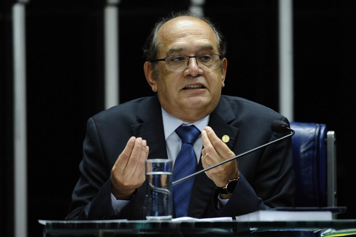 O ministro Gilmar Mendes decidirá se acolhe a desistência do partido ou se julgará, a despeito da desistência do partido. Foto: Senado Federal/Flickr.
