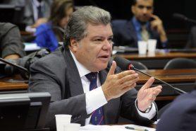 'Fui pego de supresa', dia Sarney Filho sobre decreto que extingue a Renca. Foto: Luis Macedo/Câmara dos Deputados.
