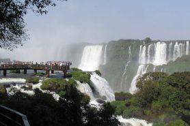 Exploração de visitação no Parque Nacional do Iguaçu é feita por empresa privada. Foto: Wellington Matos/Wikiparques.