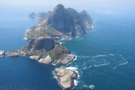 O arquipélago de Alcatrazes fica a cerca de 35 km do litoral norte de São Paulo. Foto: Daniele Bragança.