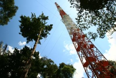 Torre ATTO, no Amazonas. Foto: INPA.