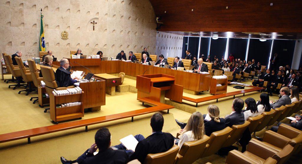 Sessão plenária do STF. Foto: Carlos Moura/SCO/STF .