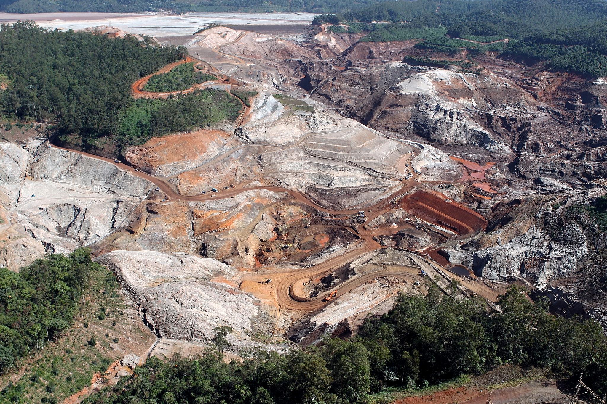 A mineração causou a perda de 11.670 km² quilômetros da floresta amazônica entre os anos de 2005 e 2015. Foto: Felipe Werneck - Ibama