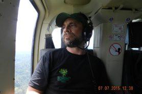Rodrigo Cambará, chefe do departamento de Ordenamento Territorial do ICMBio na região da BR-163.  Foto: Arquivo Pessoal.