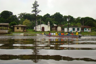 Andes, Amazônia e Atlânticos unidos num único corredor. Questão diplomática emperra negociação. Foto: Cortesia Iepé.