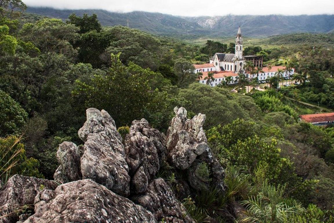 A RPPN Santuário do Caraça, em Minas Gerais, faz parte dos 53% das unidades de conservação que possuem plano de manejo. Foto: Clelgen Luiz Bonetti/Wikiparques.