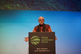 O engenheiro florestal Robert Nasi. Foto: Pilar Valbuena/Global Landscapes Forum.