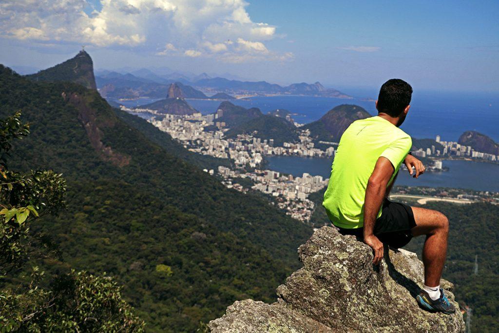 Visual de cartão-postal da Pedra da Proa. Foto: Duda Menegassi.