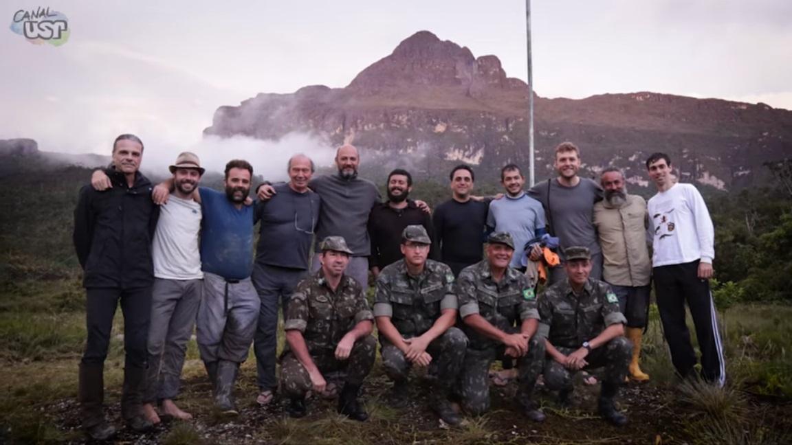 USP divulga vídeos de expedição de pesquisadores no Pico da Neblina