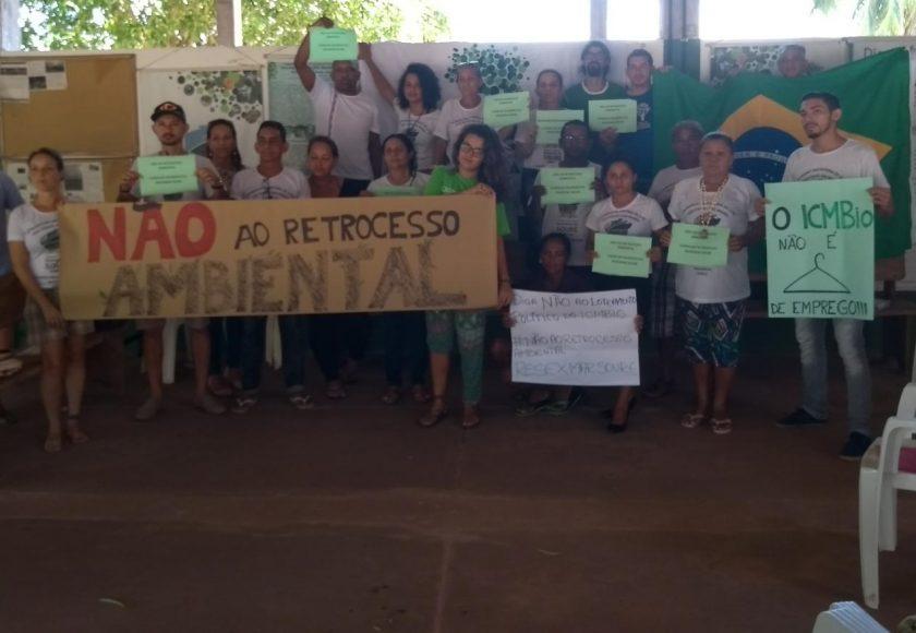 Reserva Extrativista Marinha de Soure, no Pará. Foto: Divulgação