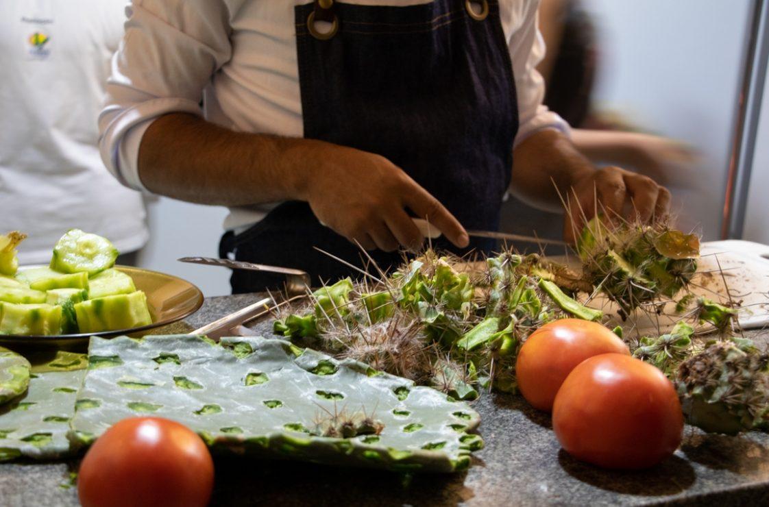 Gastrotinga, a culinária da Caatinga. Foto: Duda Menegassi