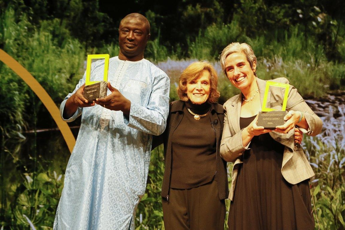 Por trabalho na conservação de antas, brasileira ganha prêmio internacional