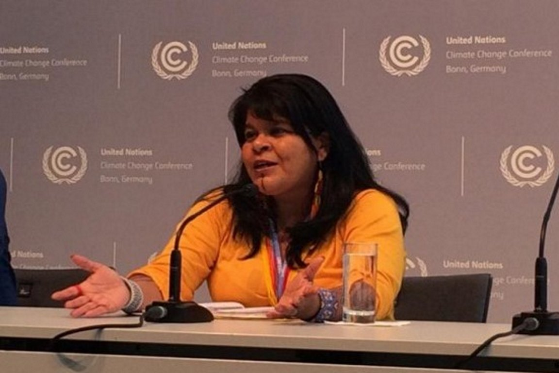 Em Bonn, indígenas pedem boicote a commodities brasileiras