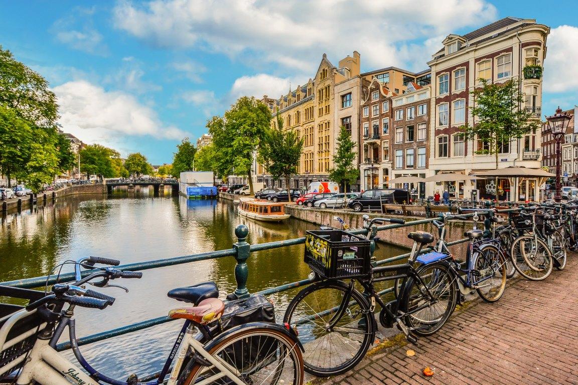 Cuidado com as bicicletas na Holanda!