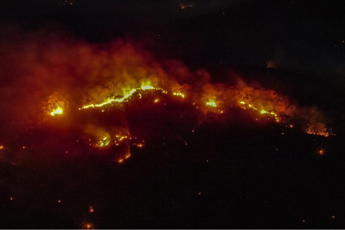 Fazendeiro é flagrado ateando fogo na Chapada dos Veadeiros