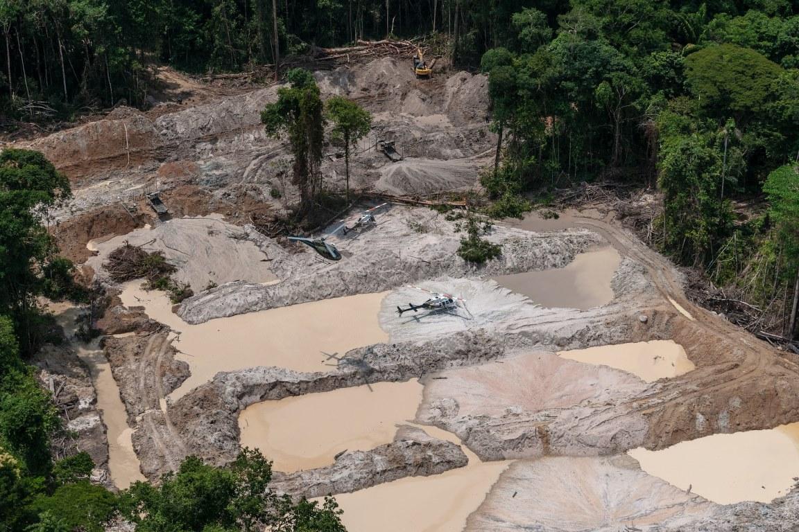 Mineração de pequena escala, impacto ambiental de grande escala