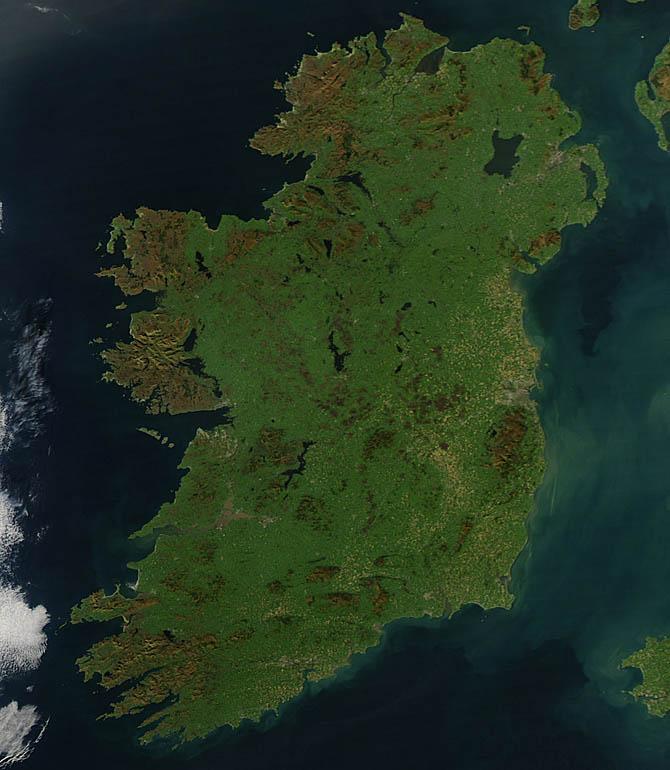 No Dia da Terra, os verdes vistos do espaço