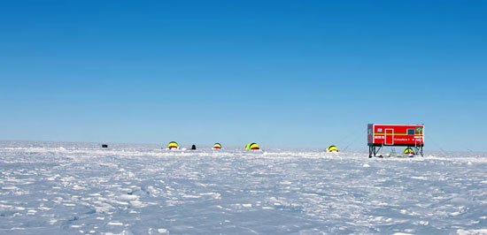 Módulo brasileiro Criosfera 1 inicia transmissão de dados na Antártica