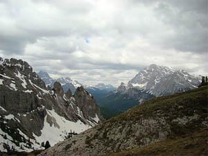 Três picos italianos