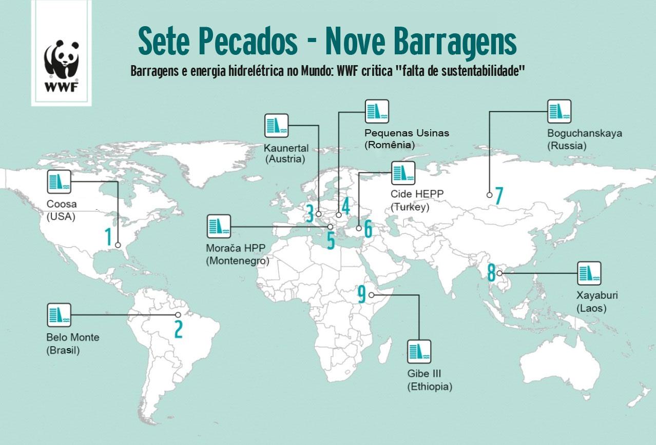 WWF lista os pecados ambientais de Belo Monte