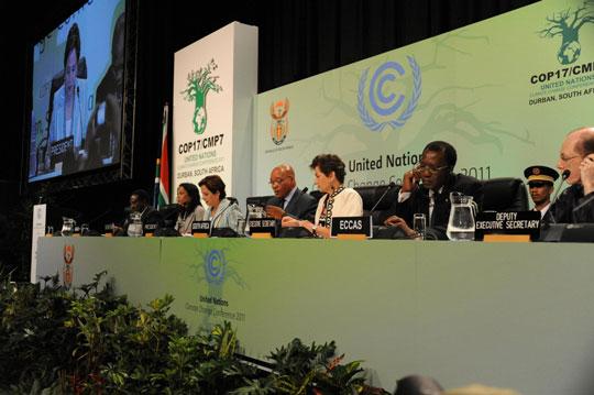 Começa a COP 17, em Durban, África do Sul