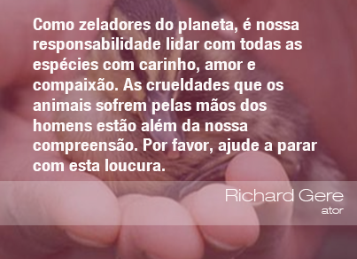 Frases Do Meio Ambiente Richard Gere Ator 011113 Oeco