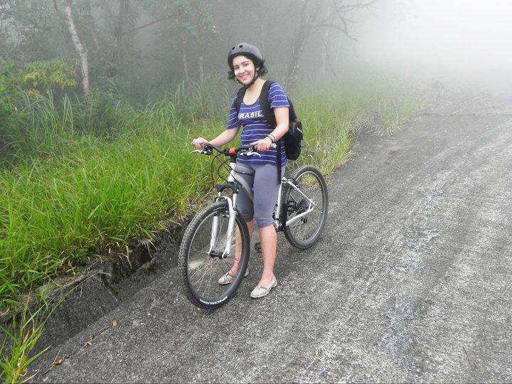 Brasileira encara desafio de bike para arrecadar dinheiro para Unicef (parte I)
