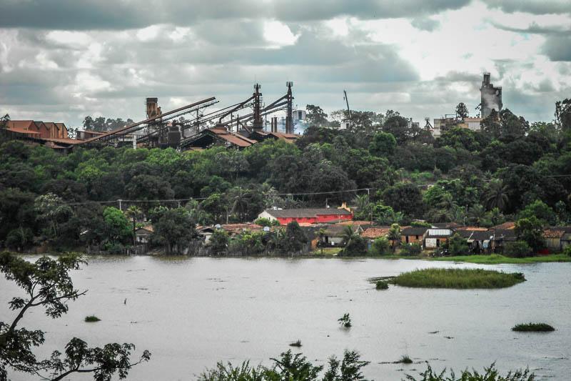 Piquiá, um povoado coberto por pó de ferro na Amazônia