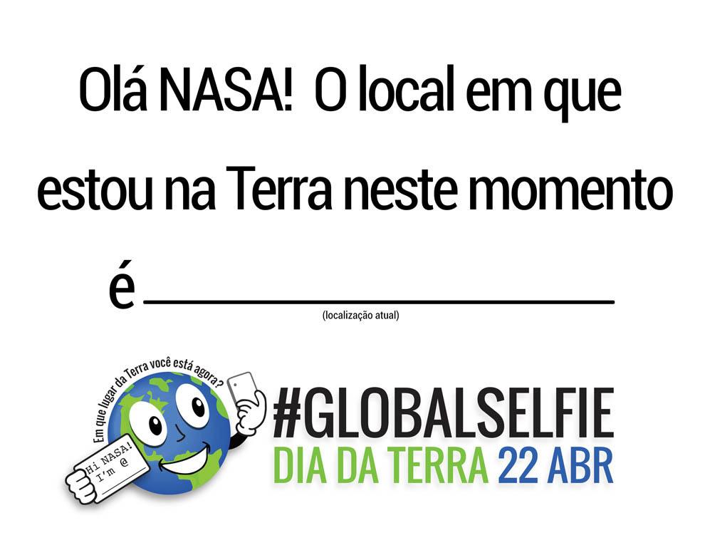 No Dia da Terra, uma #GlobalSelfie de seus habitantes