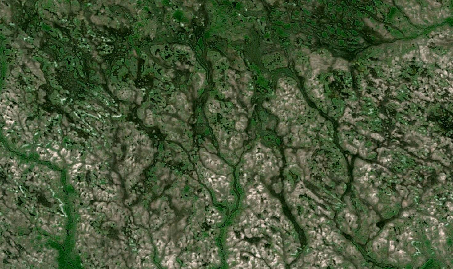 As belezas dos Parques Nacionais vistos do espaço
