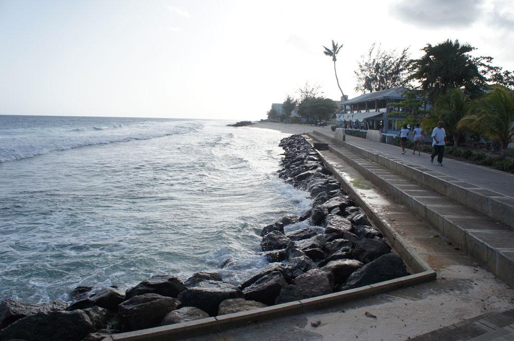 Lute pela existência de Barbados, ameaçado pelo nível do mar