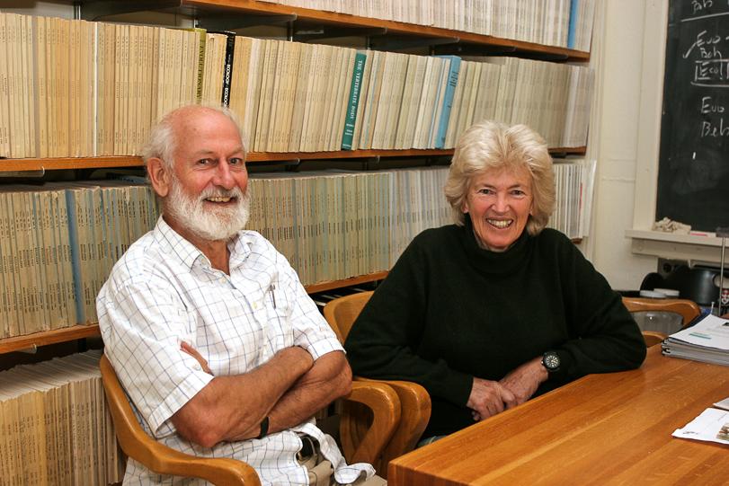 Rosemary e Peter Grant: evolução em tempo real