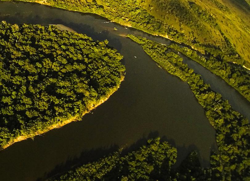 Drones vigiam o Parque do Cantão, no Tocantins