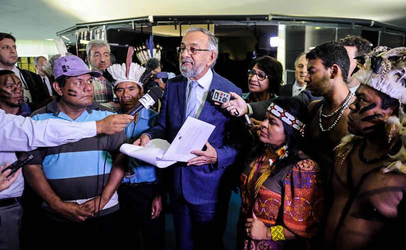 PEC das terras indígenas não passaria no Senado